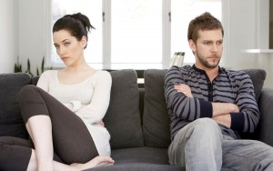 ссора женщины и мужчины