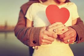 красивая пара сердце
