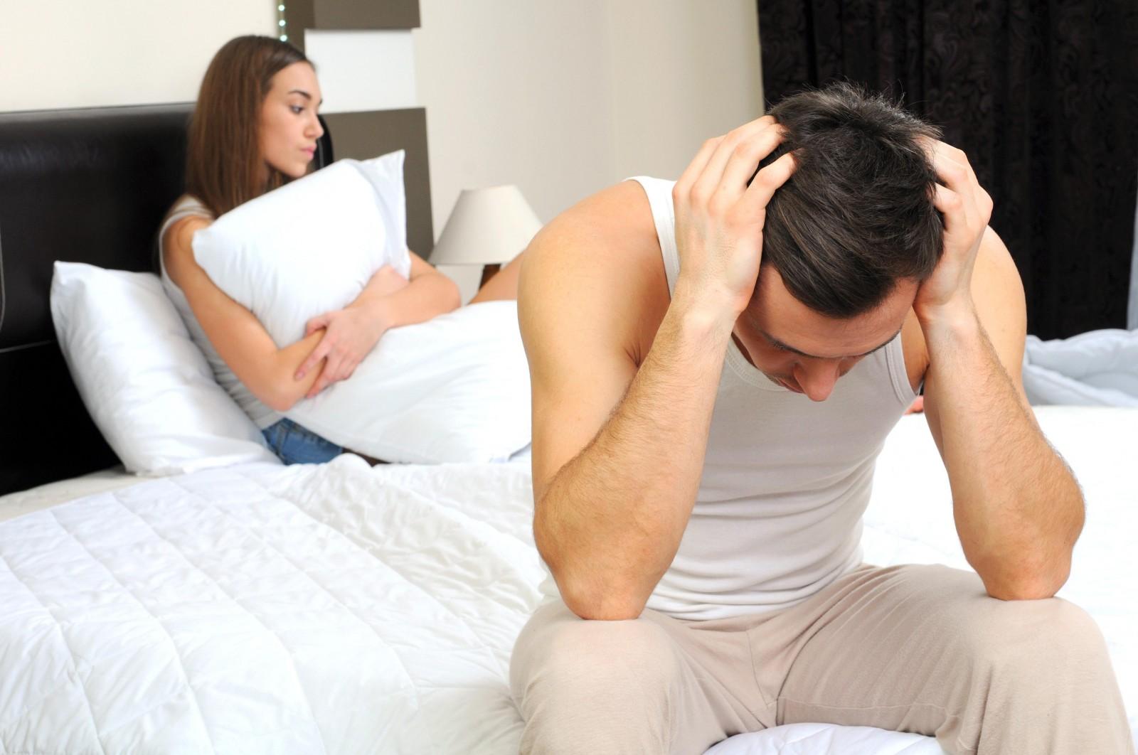 Ослабление сексуального влечения у мужчин