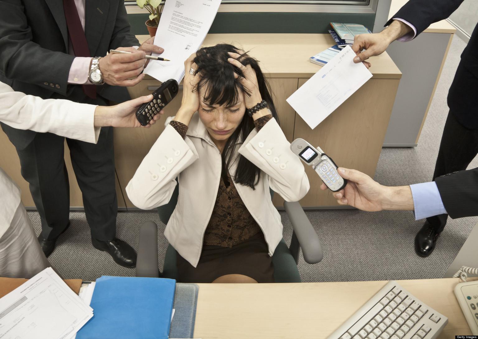 Борьба со стрессом на работе